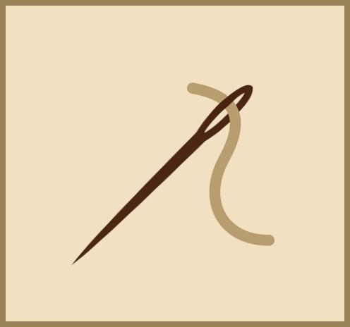 antique rug repair icon